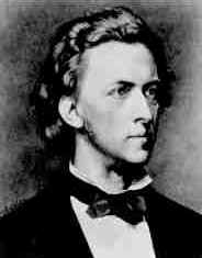 Chopin;  print based on a portrait by P. Schick.