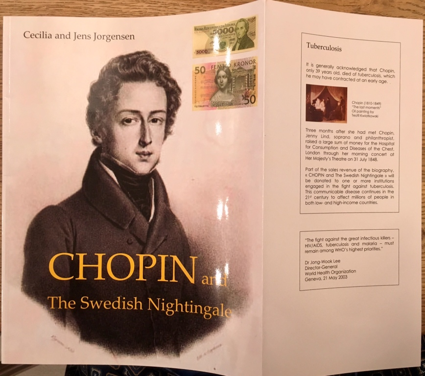 CHOPIN and The Swedish Nightingale (2003): The composer's life and times seen through his own letters - including his romance with Jenny Lind.