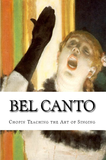 """Bel Canto: Chopin Teaching the Art of Singing"" (2013), publication of Icons Europe's research paper presented at a conference organized by the Fryderyk Chopin Institute."