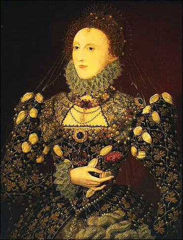 Elizabeth I (1533-1603) was a patron of art, music, literature and science.  She liked the young Shakespeare (1564-1616).