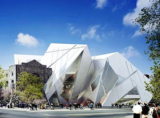 "Royal Ontario Museum, Toronto, which hosted Icons of Europe's musiccal drama ""Chopin and The Nightingale""  in 2005."